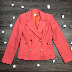 Neiman Marcus Double Breasted Blazer Size 6